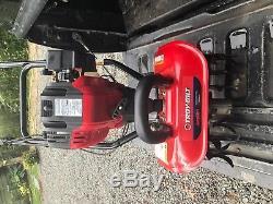 Troybilt Jumpstart Portable Roto Motoculteur Jardin Cultivateur Gaz Puissance Légère