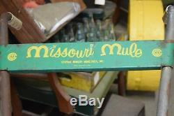 Vintage Missouri Mule Cultivateur Jardinage Agriculture Outil